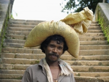 Man-carrying-sack-on-his-head