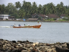 Fishing-Boats,-Beypore-sea-sho