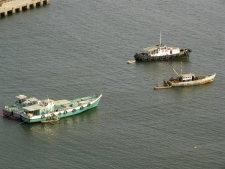 Boats-moving-on-water